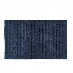 Tapis de bain Bleu Nuit Tiles