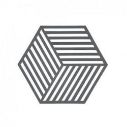 Hexagon Gris clair Trivet