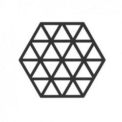 Trivet triangle noir