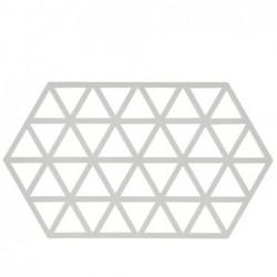 Trivet Gris clair triangle L24