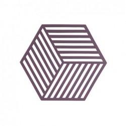 Trivet Beet Hexagon