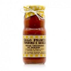Sauce tomates et basilique...